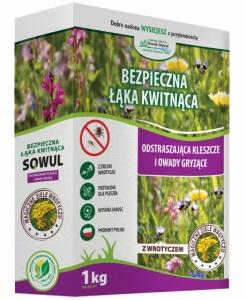 Mieszanka traw Bezpieczna Łąka Kwitnąca 1 kg